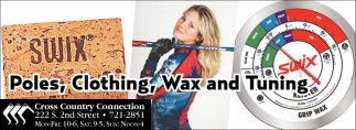 Poles, Clothing, Wax and Tuning
