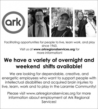 We have a variety of overnight and weekend shifts available!