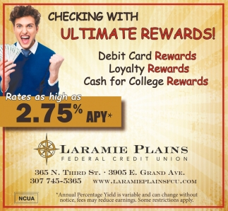 Checking with Ultimate Rewards!