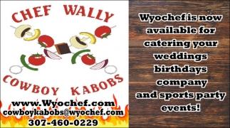 Chef Wally Cowboy Kabobs