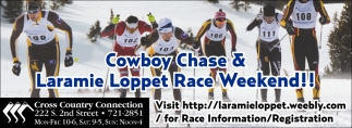 Cowboy Chase and Laramie Loppet Race Weekend