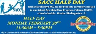 SACC Half Day