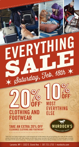 Everything Sale!