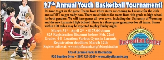 27th Annual Youth Basketball Tournament!