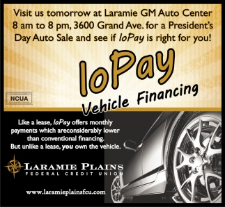 Visit us tomorrow at Laramie GM Auto Center