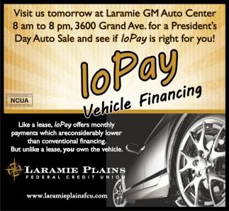 Visit us tomorrow at Laramie GM Auto Center