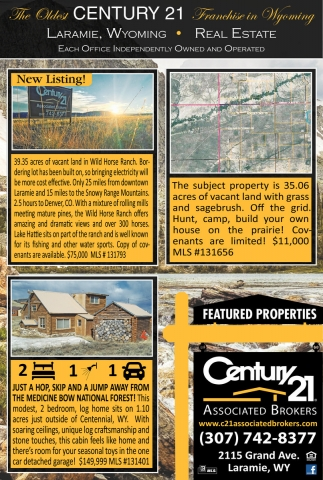 Laramie, Wyoming - Real Estate