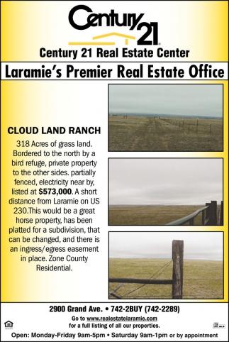 Laramie's Premier Real Estate Office!