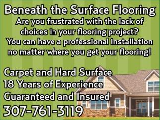 Beneath the Surface Flooring