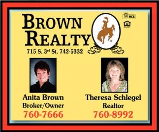 Anita Brown / Theresa Schlegel