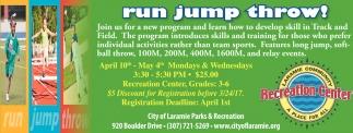 Run jump throw!