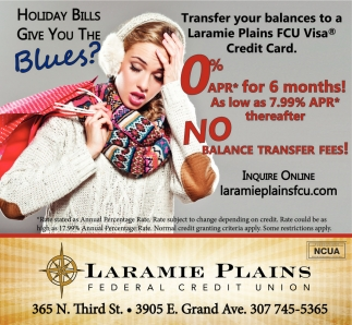 Holiday Bills Give You The Blues?