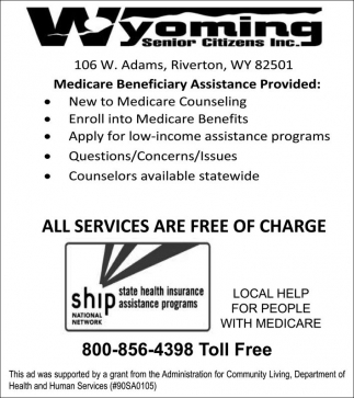 Medicare Beneficiary Assistance Provided