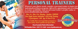 Personal Trainers