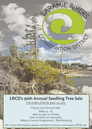30th Annual Seeding Tree Sale