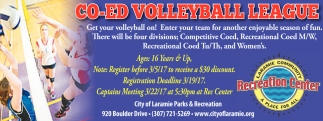 CO-ED Volleyball League