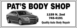 Quality Auto Body Repair