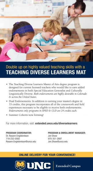 Teaching diverse learners mat