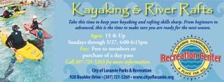 Kayaking & River Rafts