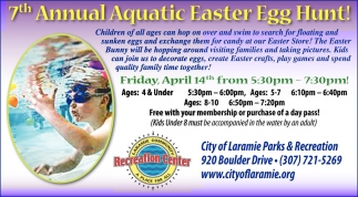 7th Annual Aquatic Easter Egg Hunt