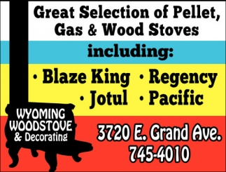 Great Selection of Pellet, Gas and Wood Stoves