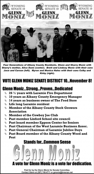Vote Glenn Montz