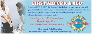 First Aid / CPR and AED