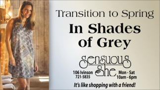 Transition to spring in shades of grey!