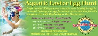 Aquatic Easter Egg Hunt!