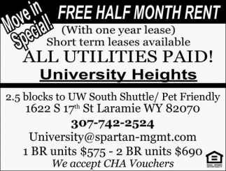 Free Half Month Rent