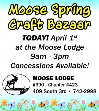 Moose Spring Craft Bazaar