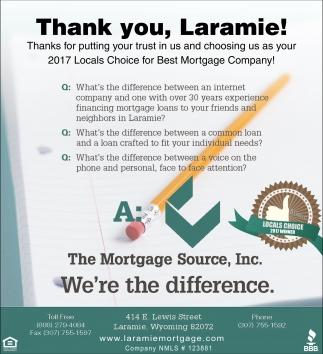 Thank You, Laramie!