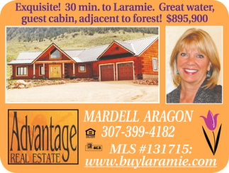 Exquisite! 30. min to Laramie. Great water, guest cabin, adjacent to forest! $895,900