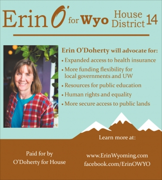 Erin O'for Wyo House District 14