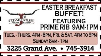 Easter Breakfast Buffet!