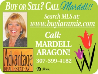 Buy or sell? Call Mardell!!!