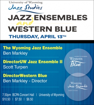 Jazz Ensembles and Western Blue