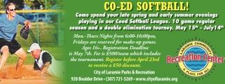 CO-ED Softball!