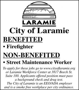 Benefited Firefighter and Non-Benefitted Street Maintenance Worker