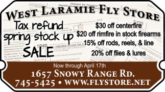 Tax refund spring stock up sale!