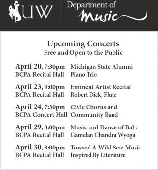 Upcoming Concerts