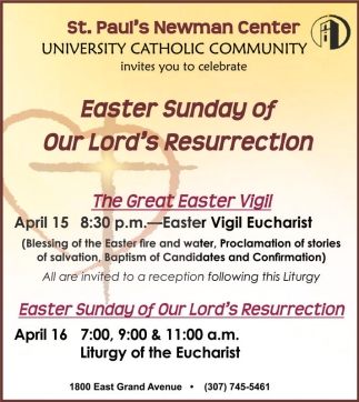 Easter Sunday of Our Lord's Resurrection!