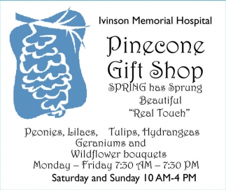 Pinecone Gift Shop
