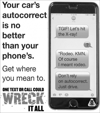 Your car's autocorrect is no better than your phone's