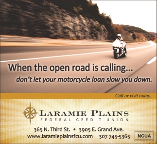When the open is calling... don't let your motorcycle loan slow you down.