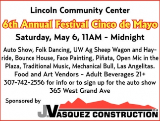 6th Annual Festival Cinco de Mayo