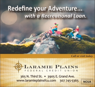 Redefine your Adventure... with a Recreation Loan.