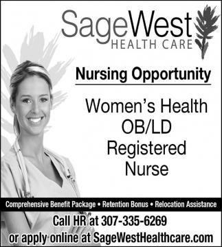 Nursing Opportunity