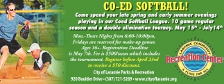 Co-Ed Softball!