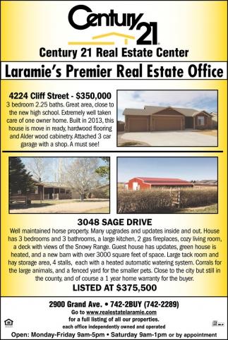 Laramie's Premier Real Estate